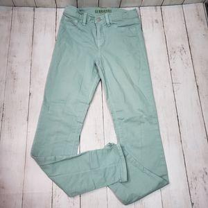 J. Brand Skinny Leg In Juniper Green Denim Jeans